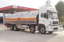 國五東風商用前四后八鋁合金運油車