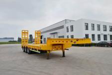 同强10.5米27.3吨3低平板半挂车