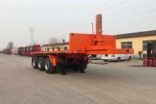 恒通梁山7.5米32.5吨3轴平板自卸半挂车(CBZ9404ZZXP)