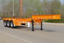 天骏德锦11.1米34.5吨3轴集装箱运输半挂车(TJV9400TJZJ)