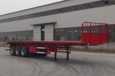 梁山宇翔12米31.5吨3轴平板自卸半挂车(YXM9400ZZXPC)