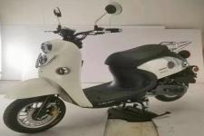 银本牌YB50QT-A型两轮轻便摩托车图片