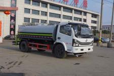 国六东风多利卡9吨洒水车