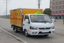 国六东风小型易燃液体厢式运输车价格