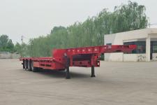 伟华通达12.5米33吨3轴低平板半挂车(LFX9400TDP)