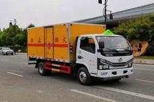国六东风新款多利卡易燃液体厢式运输车报价