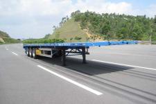 中集13米33.5吨3轴平板半挂车(ZJV9400JPSZ)