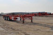 中集12.5米34.6吨3轴集装箱运输半挂车(ZJV9402TJZYK)