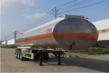 特运牌DTA9401GYYB型铝合金运油半挂车图片