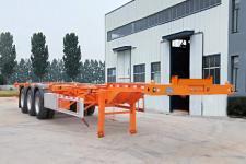 陆锋12.5米33.9吨3集装箱运输半挂车