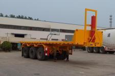 陆锋8.5米32.7吨3轴平板自卸半挂车(LST9400ZZXP)