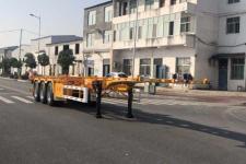 天骏德锦12.4米33.4吨3轴集装箱运输半挂车(TJV9400TJZF)