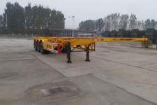 陆锋12.4米33.7吨危险品罐箱骨架运输半挂车