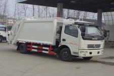 国五 东风多利卡7-8方后装压缩式垃圾车