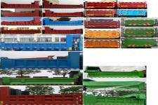 大運牌DYQ3160D5AB型自卸汽車圖片