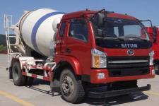 十通牌STQ5161GJBN5型混凝土攪拌運輸車