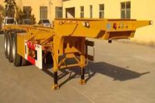 亚中车辆9.8米35吨3轴集装箱运输半挂车(WPZ9402TJZ)