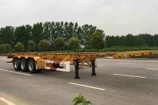 中集12.3米34.2吨3轴集装箱运输半挂车(ZJV9400TJZHJH)