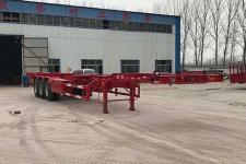 梁山宇翔14米33.6吨3轴集装箱运输半挂车(YXM9400TJZE)