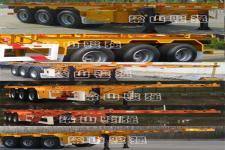 同强牌LJL9400TWY型危险品罐箱骨架运输半挂车图片