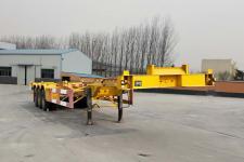 同强13.9米34.7吨3轴集装箱运输半挂车(LJL9403TJZE)