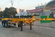 皖骏10.4米30.8吨集装箱运输半挂车图片