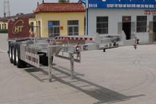 恒通梁山14米35.8吨3轴集装箱运输半挂车(CBZ9403TJZ)