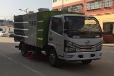 程力威牌CLW5070TSLE6型扫路车