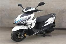 新本牌XB50QT-12D型两轮轻便摩托车图片