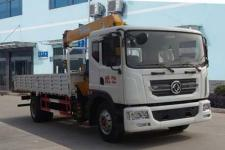 国六东风多利卡D9型6.3吨随车吊多少钱一辆