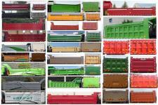 汕德卡牌ZZ3316N256MF1型自卸汽车图片