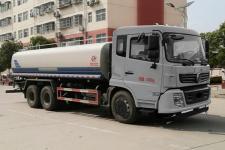 东风后八轮国六22吨绿化喷洒车厂家价格