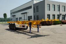 景赫12.5米34吨3轴集装箱运输半挂车(YCD9401TJZ)