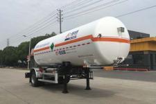 圣达因7.5米11.3吨1轴低温液体运输半挂车(SDY9181GDYY)