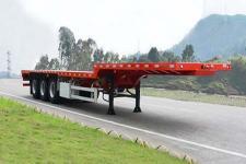 中集13米33.2吨3轴平板半挂车(ZJV9405TPSZ)