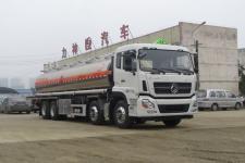 國六東風天龍前四后八30方鋁合金運油車