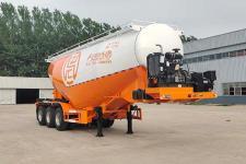 征驰9.1米31.4吨3轴中密度粉粒物料运输半挂车(JJD9401GFL2)