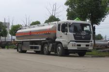 國六東風天錦小三軸25方鋁合金運油車價格