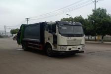 国六14方解放J6压缩式垃圾车价格
