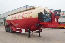 杨嘉11米29吨3轴粉粒物料运输半挂车(LHL9406GFL)