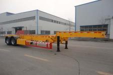 昌骅10.8米30.5吨2轴危险品罐箱骨架运输半挂车(HCH9350TWY)