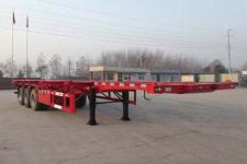 萬祥12.4米33.7噸3軸集裝箱運輸半掛車(HWX9401TJZG)