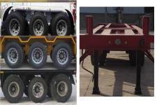 萬祥牌HWX9401TJZG型集装箱运输半挂车图片