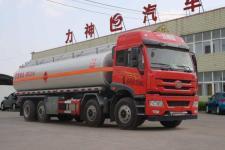 解放悍V前四后六18噸運油車價格