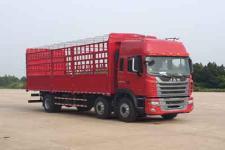 江淮格尔发国五前四后四仓栅式运输车200-393马力10-15吨(HFC5251CCYP2K3D46S2V)