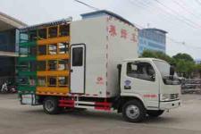 東風多利卡藍牌4米2養蜂車價格13607286060