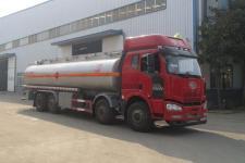 國五解放前四后六22噸25噸流動油罐車加油車廠家