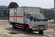 国五江铃易燃液体厢式运输车价格