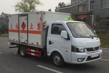 国六东风易燃气体厢式运输车