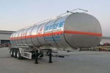 昌骅11.7米33.2吨3轴铝合金易燃液体罐式运输半挂车(HCH9401GRYMR)